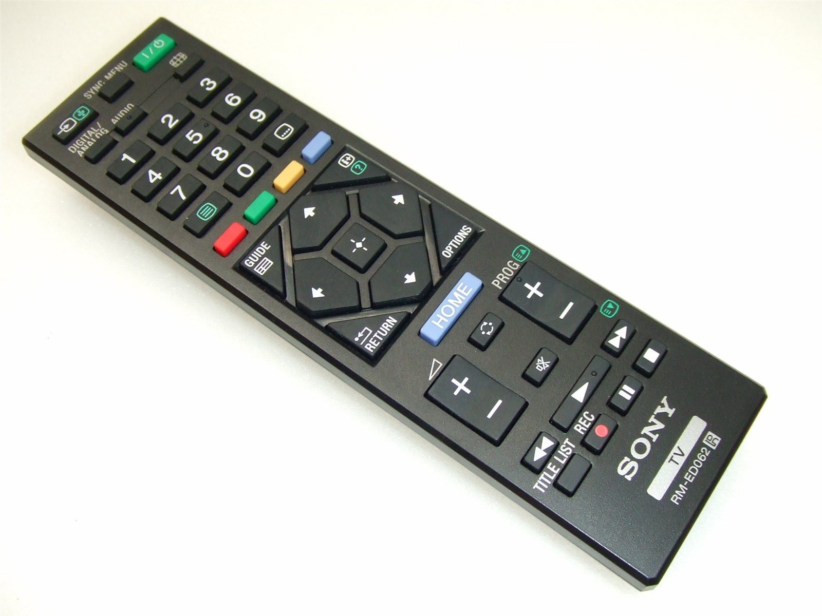 sony rm ed009 remote control manual