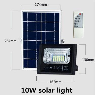 Lampa solarna JD-8810 szeroko strumieniowa LED 10W